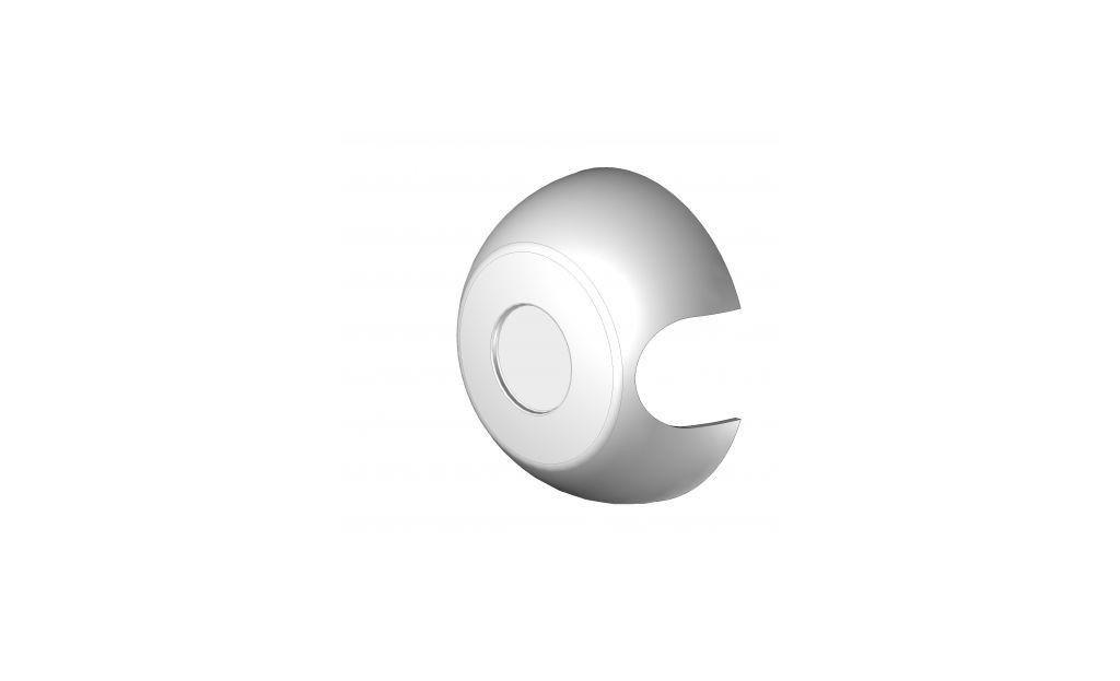 EBJ95TLA Cache plastique coté treuil store série 95 - Orilon - Votre spécialiste de stores, pergolas et pièces détachées