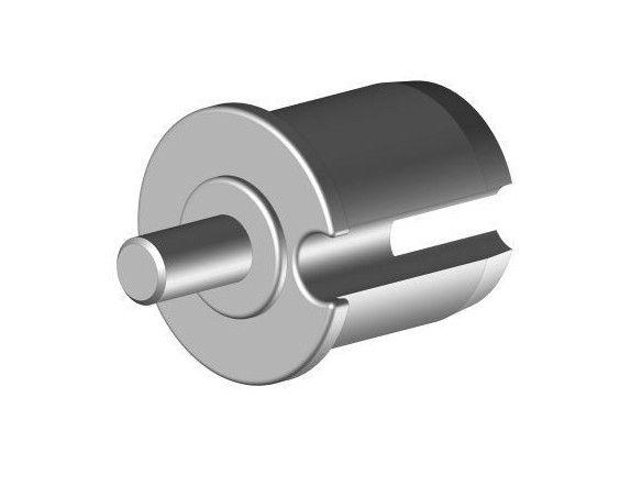 EO148PLG Tourillon plastique Ø48 mm axe Ø12 mm - Orilon - Votre spécialiste de stores, pergolas et pièces détachées