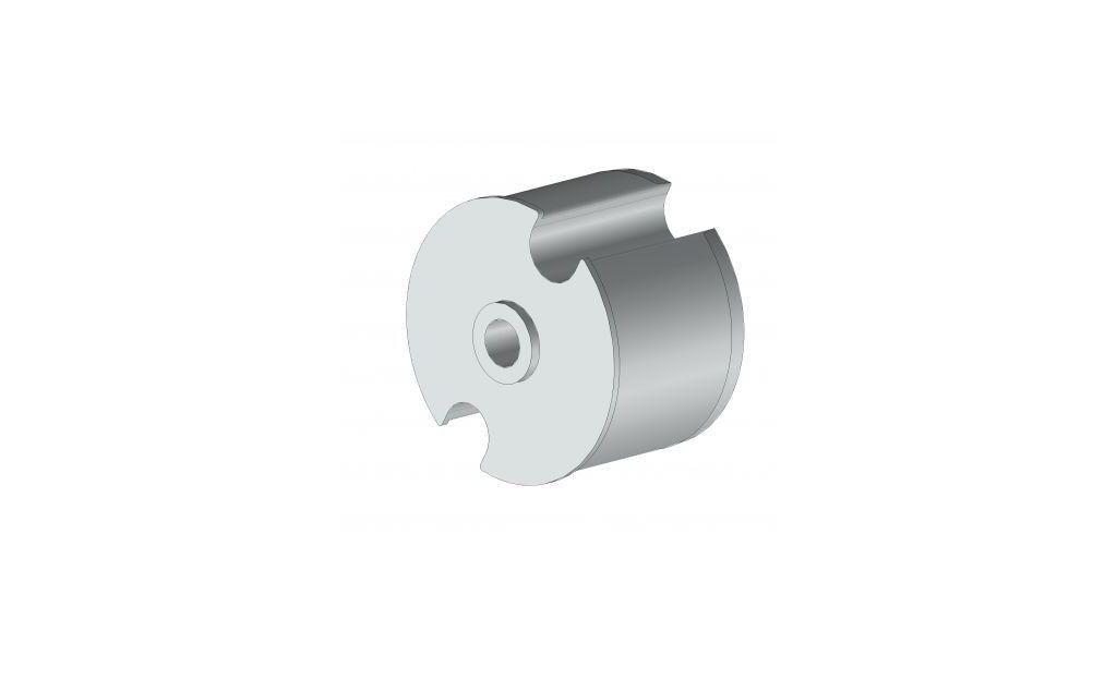 EOI278BR Tourillon creux Ø78 mm - Orilon - Votre spécialiste de stores, pergolas et pièces détachées