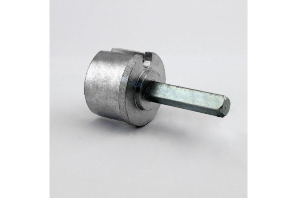 EOI360BR Tourillon alu Ø60 mm - Orilon - Votre spécialiste de stores, pergolas et pièces détachées