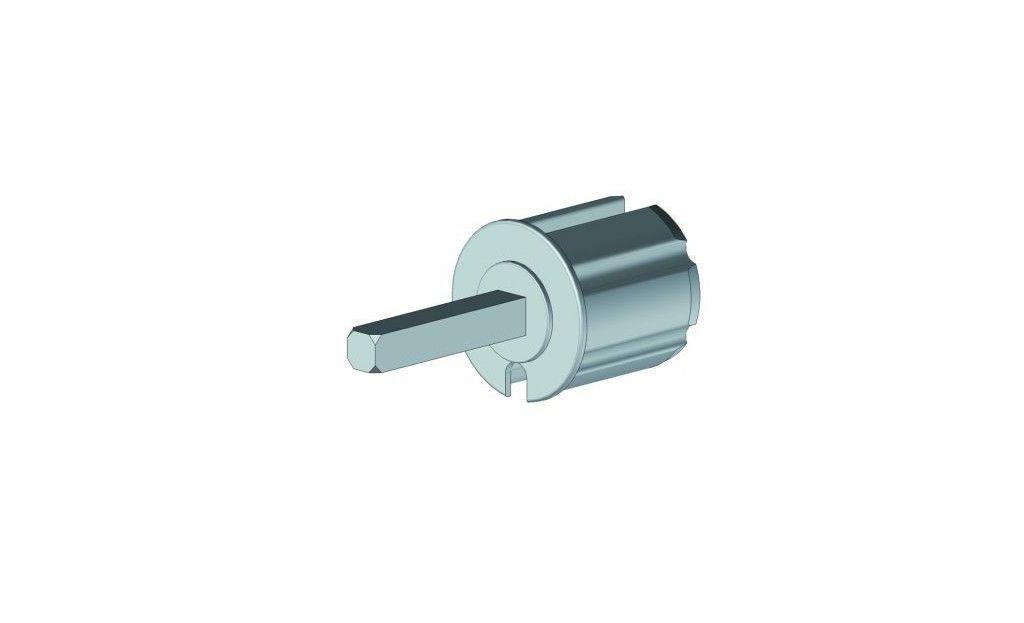 EOI360LBR Tourillon Ø60 mm axe carré 13 mm - Orilon - Votre spécialiste de stores, pergolas et pièces détachées