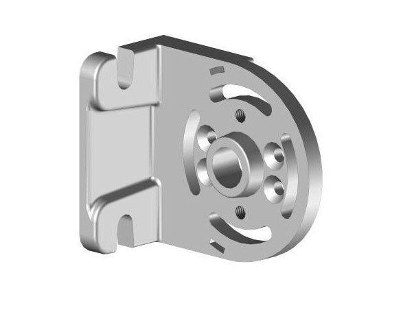 J9504LAI1 Equerre support store série 95 Droite - Orilon - Votre spécialiste de stores, pergolas et pièces détachées