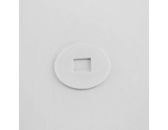 R13x42x2PLA Rondelle entretoise plastique pour tourillon - Orilon - Votre spécialiste de stores, pergolas et pièces détachées