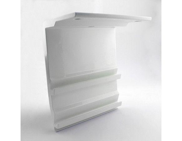 S21005LA Support plafond extrudé store coffre série 210 largeur 200 mm -