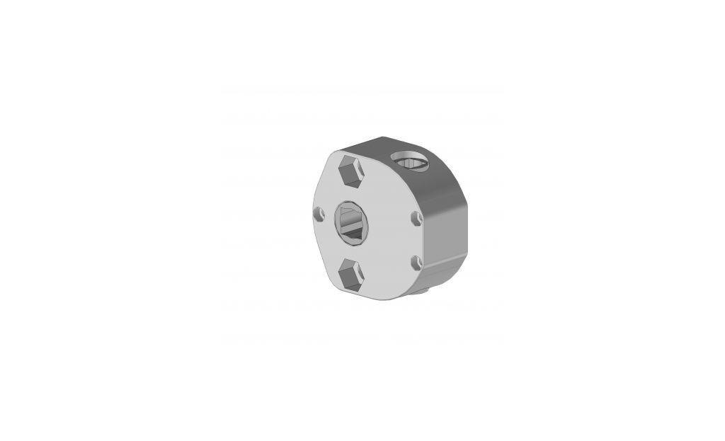 TA1/3SCLDI  Treuil rapport 1/3 PVC pour screen 55- 65 - Orilon - Votre spécialiste de stores, pergolas et pièces détachées