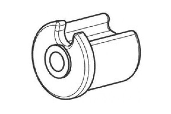EO228PLG Tourillon plastique creux Ø28 mm - Orilon - Votre spécialiste de stores, pergolas et pièces détachées