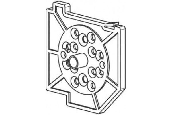 CU75ALG2 Pièce support tube - Gauche