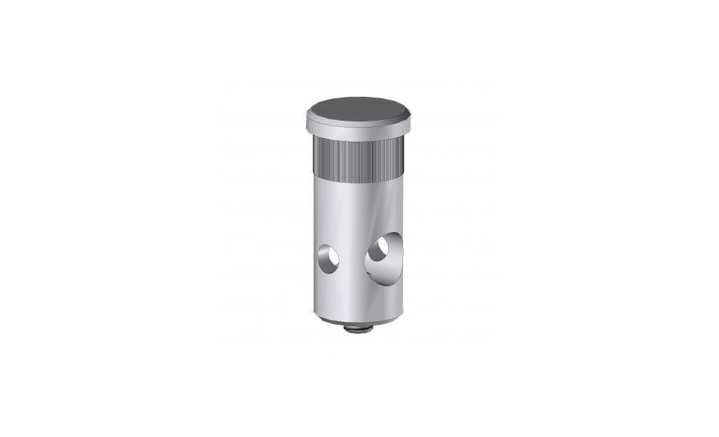 EG18A Axe Aluminium pour fixation TP10 / SU16 - Orilon - Votre spécialiste de stores, pergolas et pièces détachées