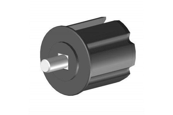 EO160BR Tourillon alu Ø60 mm - Orilon - Votre spécialiste de stores, pergolas et pièces détachées