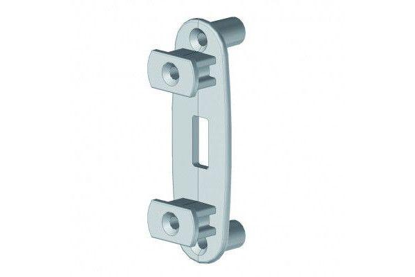 EB12PLAI Bouchon pvc pour barre de charge store anti-vent - Orilon - Votre spécialiste de stores, pergolas et pièces détachées