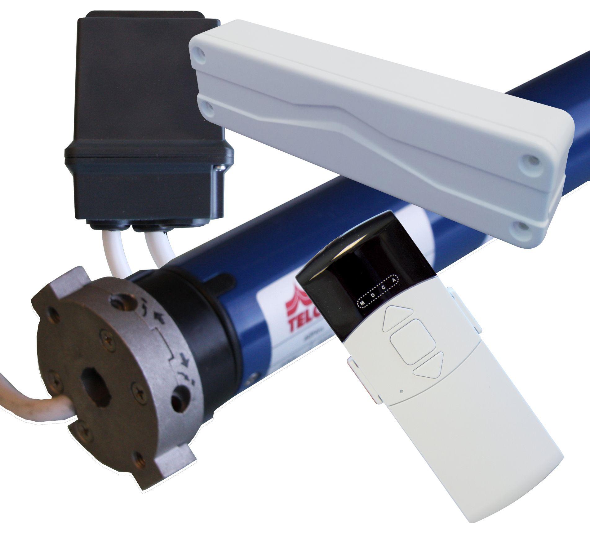 Motorisation TM40 - Télécommande - Récepteur - Capteur vibration