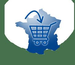 Achat et Livraison dans toute la France